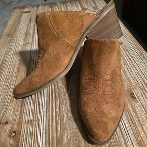 Universal Thread Cowboy Boot Mules